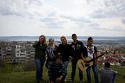 Mareike, Anika, Rebecca, Iliya, Strachiel and Moise