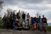 Picnic tour on the hill behind our Machla