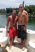 Joey Merlino taking out the boat