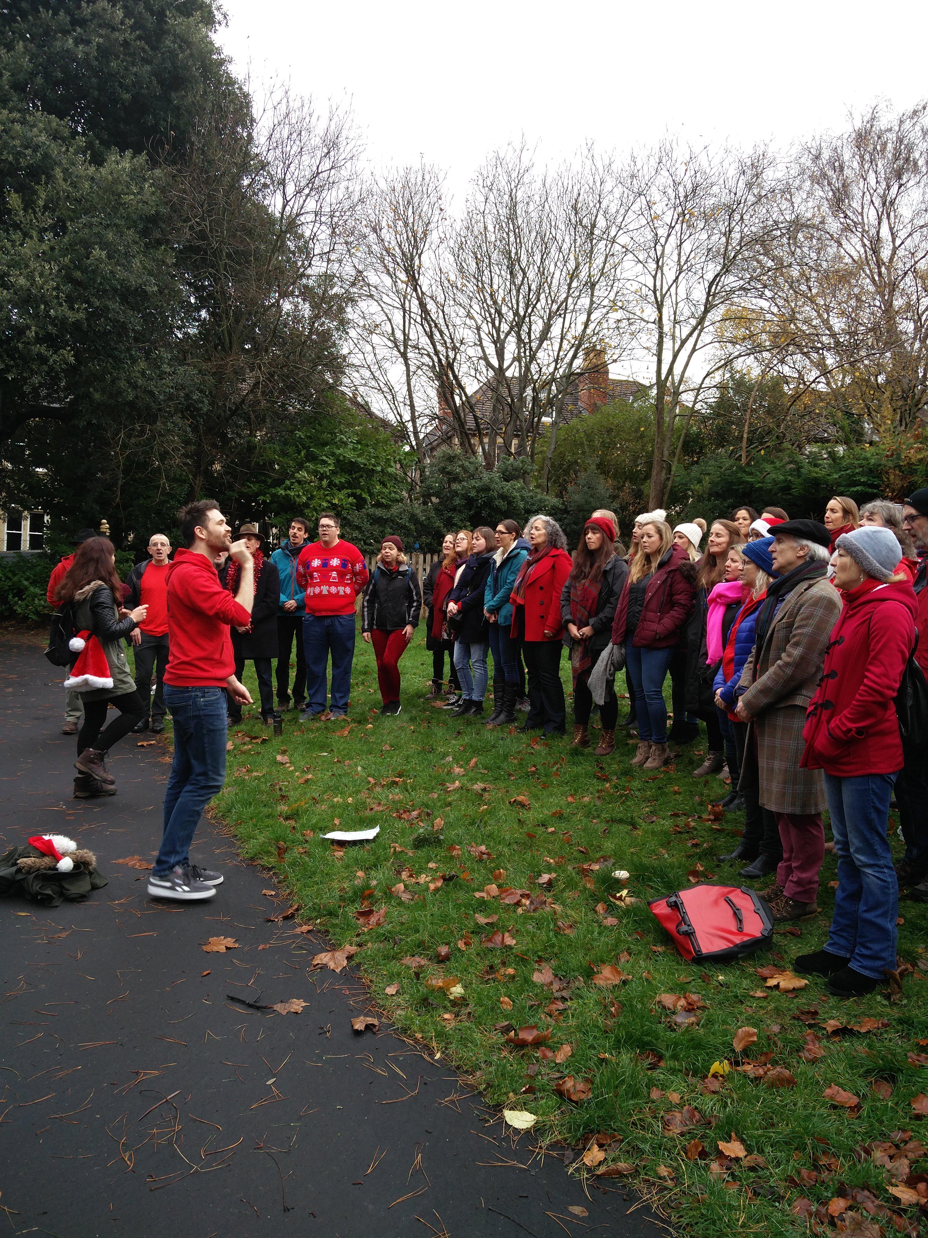 RiffRaff choir 1.12.18