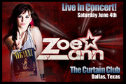 Zoe Ann, Live - In Concert!