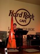 Anne at Hard Rock Cafe