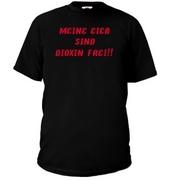 Tyree Glenn Jr.: Meine Eier T-Shirt Black Front