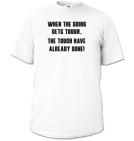 Tyree Glenn Jr. T-Shirt: THE TOUGH GET GOING