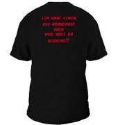 Tyree Glenn Jr.: Meine Eier T-Shirt Black Back