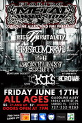 Rise 2 Brutality, Fires Of Gomorrah, The Mortuary Society, Ickis, Crow