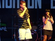 Me and Autumn on Stage...