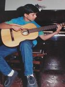 at 11 years old - Carlos Gomes music school
