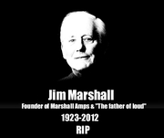 Jim Marshall, founder of Marshall Amps