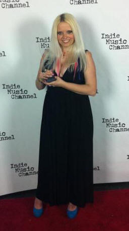 "Magda, Indie Music Channel Award winner for ""Best Dance Artist"""