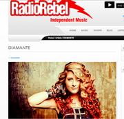 DIAMANTE  Featured on RadioRebel!