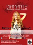DIAMANTE Performing at the Indie Music Channel Awards 2013!