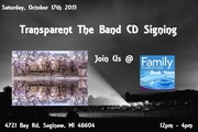 Transparent The Band CD Signing