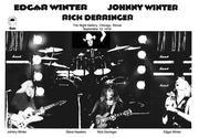 Johnny Winter, Edgar Winter, Rick Derringer & Stevie