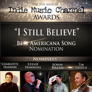 5th Annual Indie Music Channel Best Americana Song Nomination