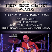 Stevie Hawkins Indie Music Channel Blues Nominations