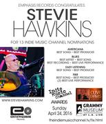 Stevie Hawkins Indie Music Channel Nominations