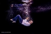 Photo underwater photo shoot