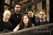 Band Photo Under the Bridge