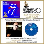 Rolling Stones Blue & Lonesome Stevie Hawkins