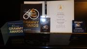 2017 Recording Academy Award Certificate & Items
