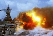 USS IOWA in Combat