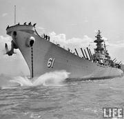 USS IOWA in LIFE Magazine