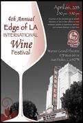 4th Annual Edge of LA International Wine Festival
