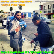 """Martin Luther King March """"Unity & Peace"""" walk"""