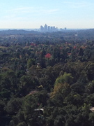 The View from Heninger Flats of  Los Angeles, Ca.