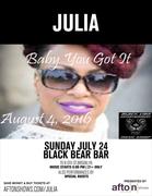 Julia Performing at Black Bear Bar