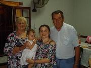JUAN, YO, JIME Y CARMELA (2 AÑOS CARME)
