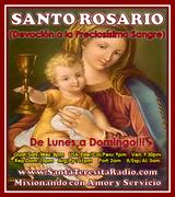 SANTO ROSARIO DE LA SANTISIMA VIRGEN MARIA de la devoción a la Preciosísima Sangre