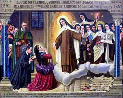 09, aparicion de Santa Teresa