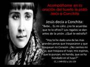 Acompáñame en la oración del huerto le pidió Jesús a Conchita