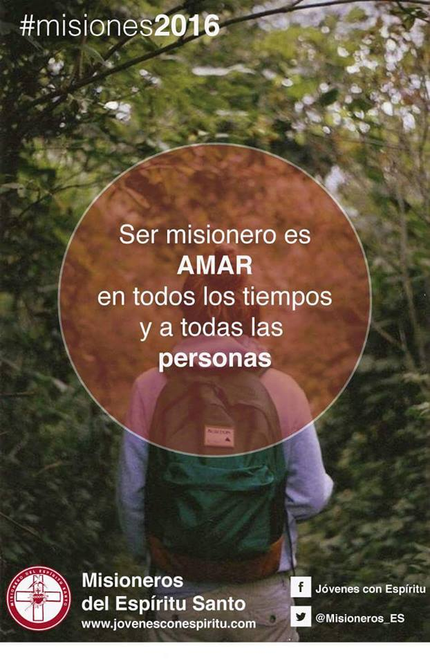 Ser misionero es Amar