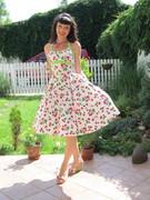 The Daisy Dress in Cherry