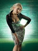 Zebra Vamp & Deadly Dames bolero