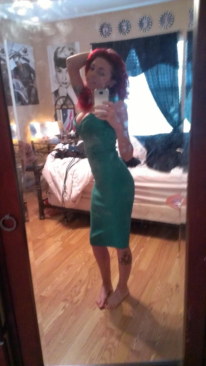 Lucky Green Erin Dress