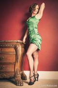 Greta in Emerald, Size S