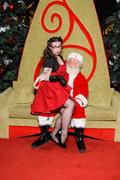Meeting Santa with Lana