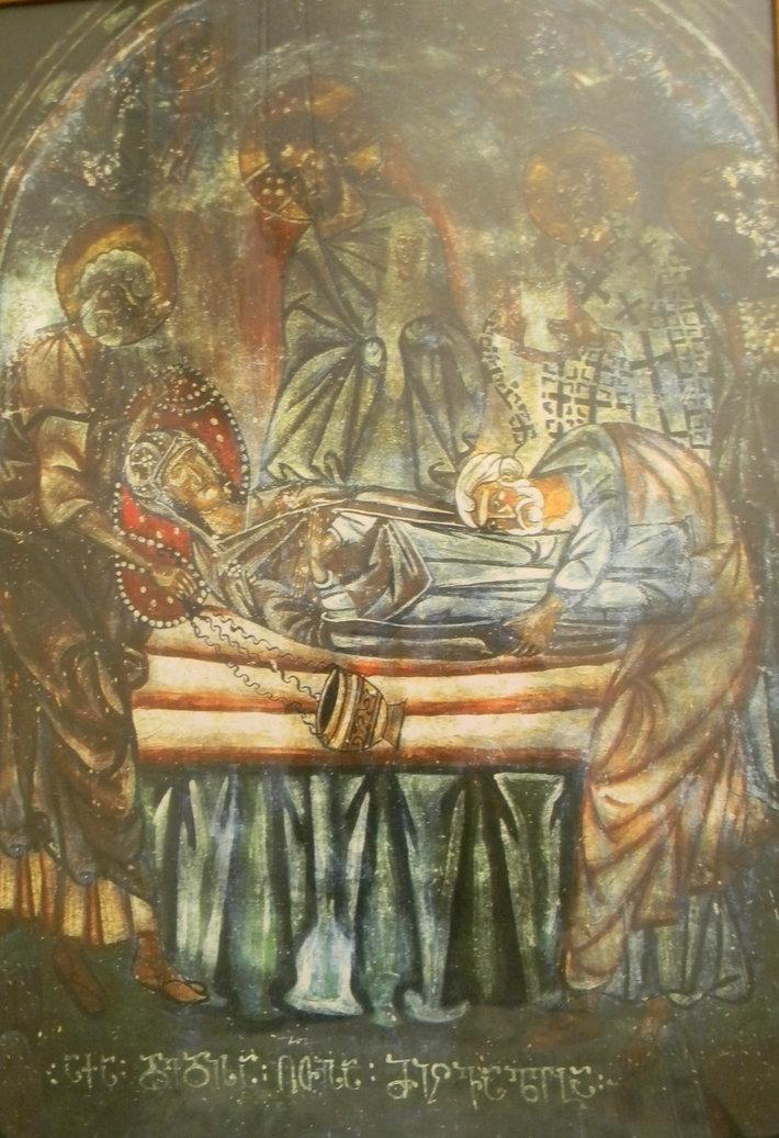 დედა ღმრთისას მიძინება
