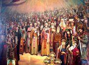ყოველთა წმინდანთა ფრესკა
