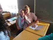 სკოლაში პირველ დღეს