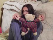 ღრმა ბავშობის სათამაშო დათვი დრაკულა
