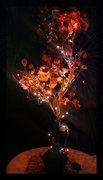 შემოდგომის ხე (კარალიოკი) საახალწლო შემკულობით