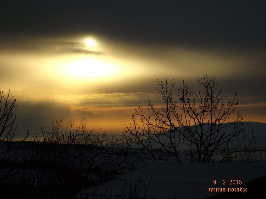 ზამთრის დილა