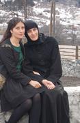 დასთან ერთად მესტიის მონასტერში
