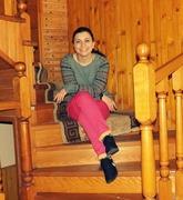 თოვლში სრიალს კიბეებზე ჯდომა ვამჯობინე