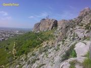 Sulayman Mountain or Throne of Solomon